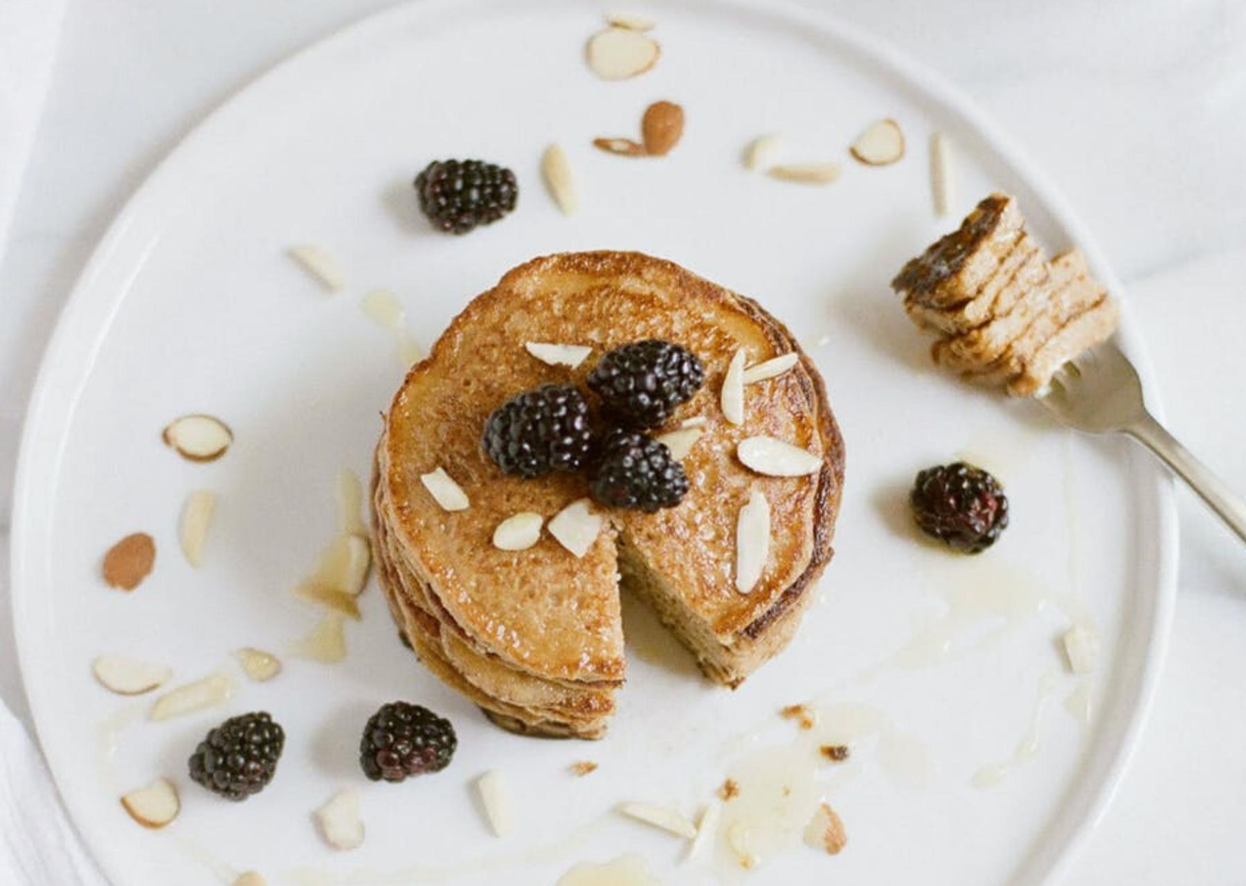 Pancake avena e banana